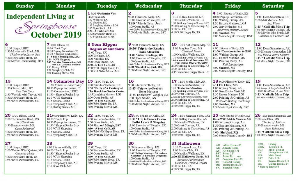 , Calendar